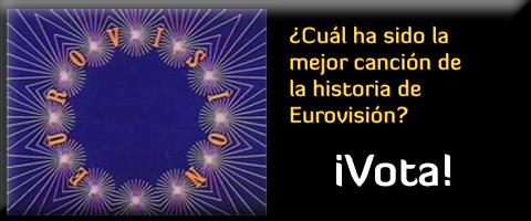 ¿Cuál es la mejor canción de la historia en Eurovisión? ¡Visita el ranking y vota!
