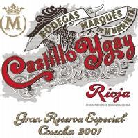 Castillo Ygay 2001 Gran Reserva