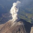 Erupci�n del volc�n Unzen en 1792