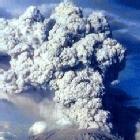 Erupci�n del volc�n Galunggung de 1822