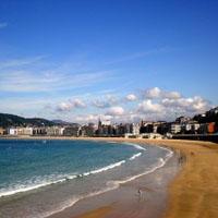 La Concha beach (San Sebastián)
