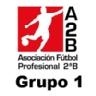 Clasificación de la Liga de fútbol de segunda división B Grupo 1 de España