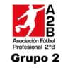 Clasificacin de la Liga de ftbol de segunda divisin B Grupo 2 de Espaa