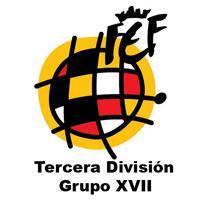 Clasificación de la Liga de fútbol de tercera división Grupo XVII de España