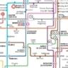 Planos de red de transporte público