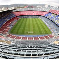 Ranking de los estadios de fútbol más grandes de España