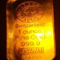 Precio del oro en el mercado internacional segun el