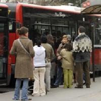 Usuarios de transporte público urbano para las CCAA de España según el INE