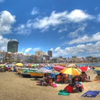 Número mensual de Turistas Extranjeros para España y principales CCAA según Frontur