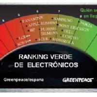 Ranking verde de electr�nicos seg�n Greenpeace