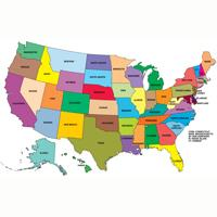 Ranking of the USA's Largest States