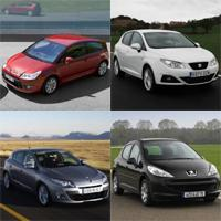 Ranking of the Best-selling Compact Cars in Spain